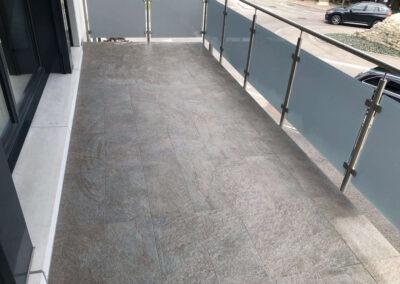 Id carrelage aménagement extérieur terrasse balcon carrelage r10 imperméabilisation